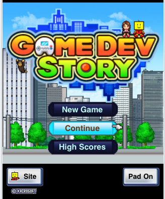 A story, about developing games