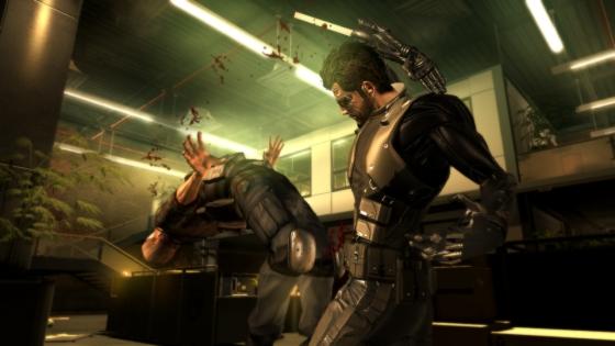Deus Ex Human Stabbing